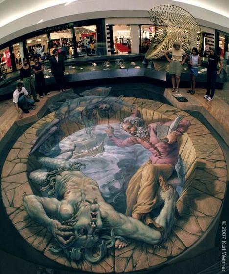 classic art 3d sidewalk 2