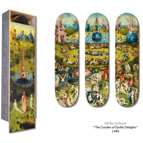 classic art skateboard 2