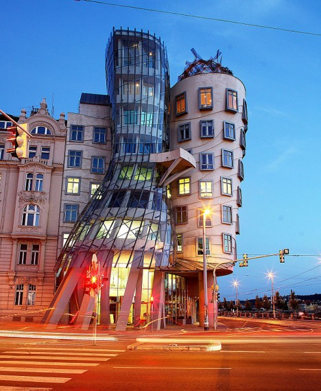 dancing house image gehry