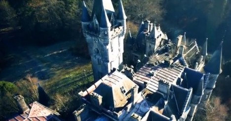drone castle