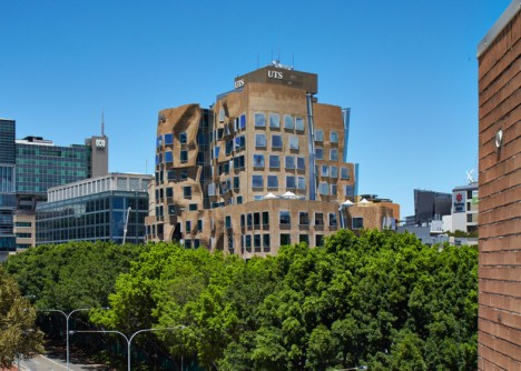 frank gehry bag building
