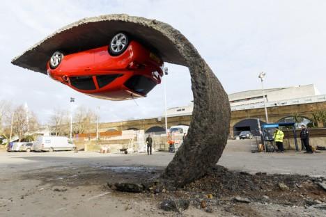 hanging car 2