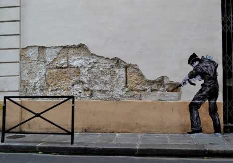Playful In Paris Life Sized Interactive Street Art Urbanist