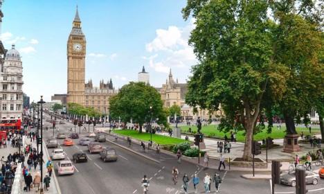 london dedicated bike paths