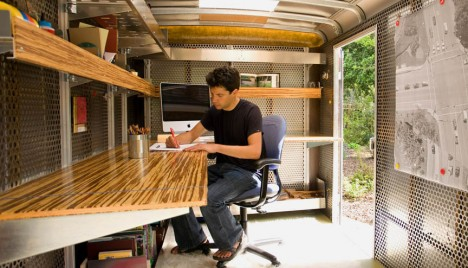 Pop Up Office 14 Modern Mobile Studios For Creatives