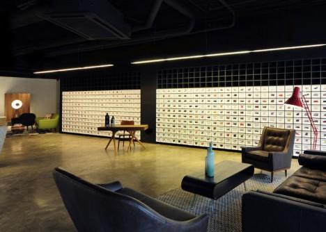 projected showroom hybrid digital