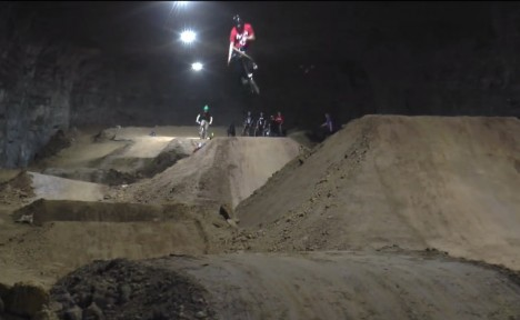 reclaimed mine bike park 2