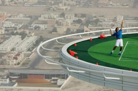 rooftop tennis court dubai 2