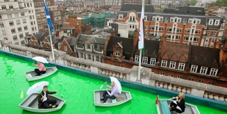 rooftops  selfridges