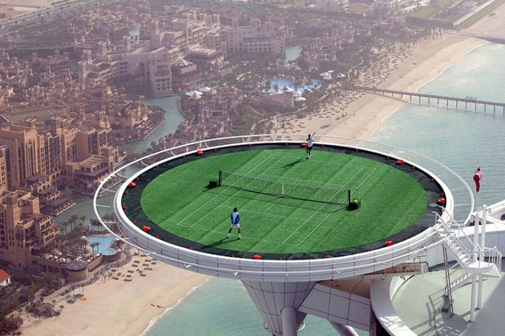 sky high tennis