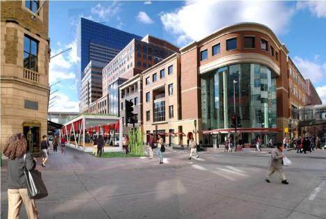 skyway on nicolet mall