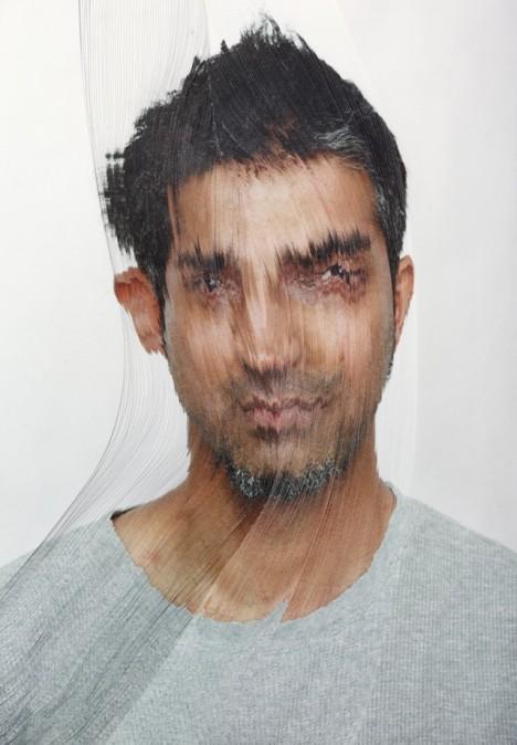 time lapse paper portraits 2