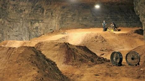 underground dirt ramp caves