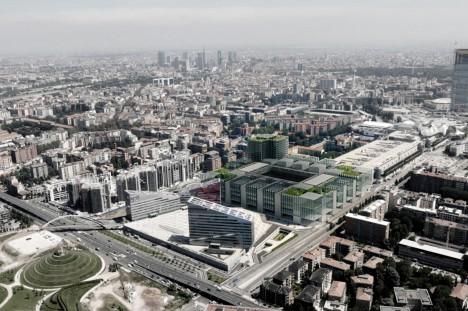 urban fabric stadium design