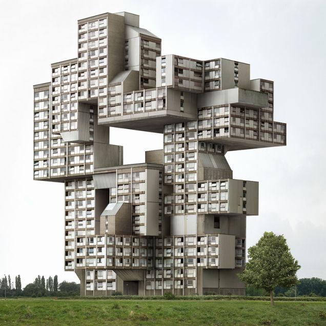 Fantasy Architecture Dujardin 1