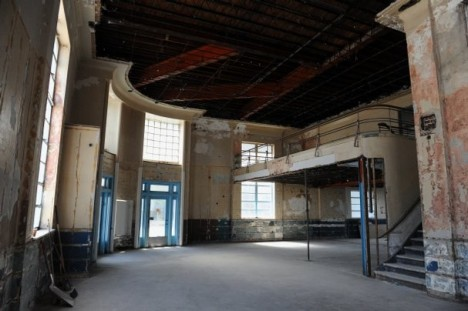 abandoned bus station terminal Evansville 7