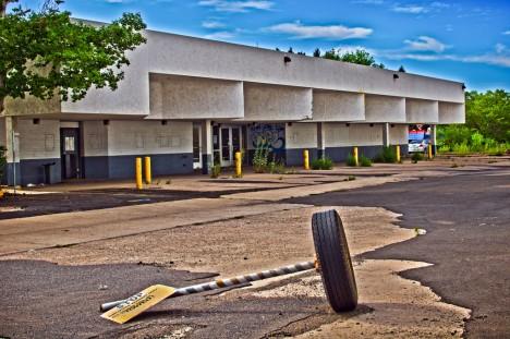 abandoned bus station terminal Flagstaff AZ 6a