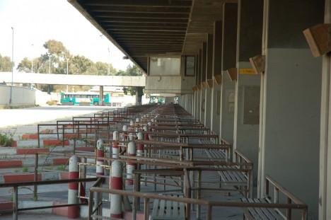 abandoned bus station terminal Haifa Israel 5b