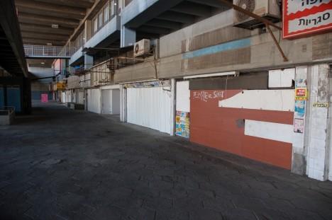 abandoned bus station terminal Haifa Israel 5c