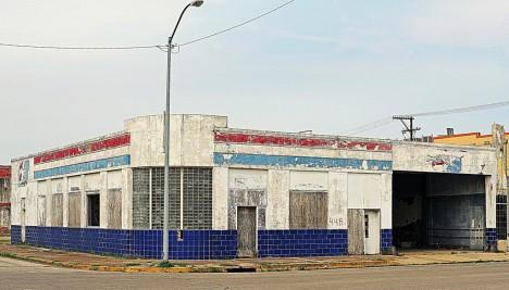 abandoned bus station terminal Port Arthur TX 4b