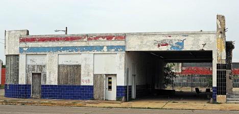 abandoned bus station terminal Port Arthur TX 4c