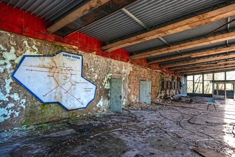 abandoned bus station terminal Pripyat Chernobyl 7a