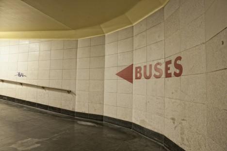 abandoned bus station terminal Transbay 9b