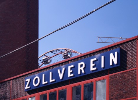 abandoned mine winding tower Zollverein 10a