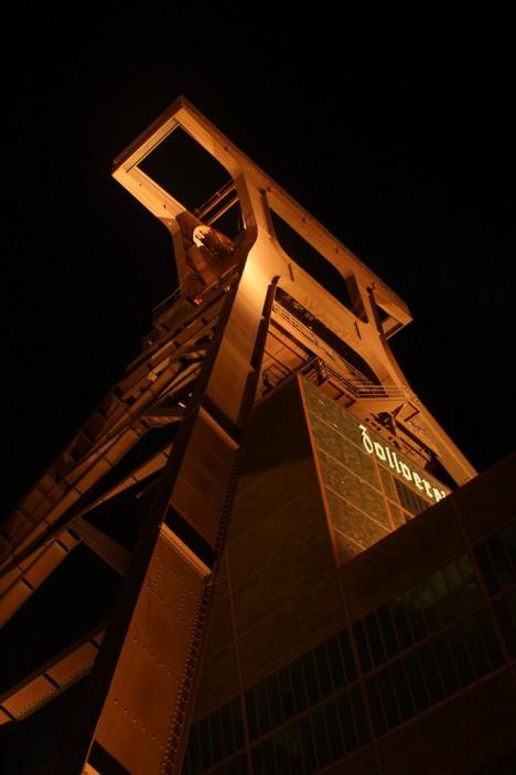 abandoned mine winding tower Zollverein 10b