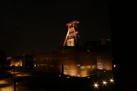 abandoned mine winding tower Zollverein 10c