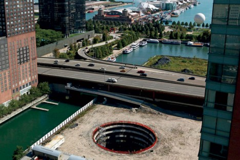 chicago spire void