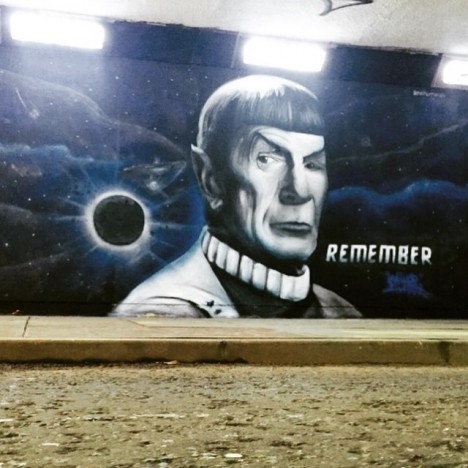 graffiti Spock 1