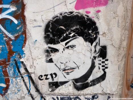 graffiti Spock 10a