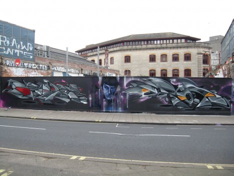 graffiti Spock 13a