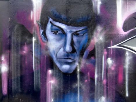 graffiti Spock 13b