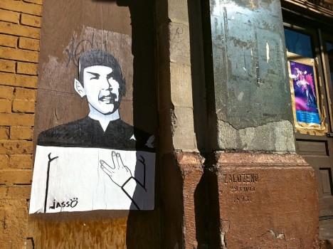 graffiti Spock 14