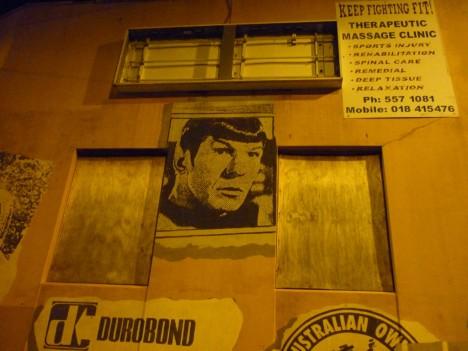 graffiti Spock 16
