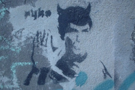 graffiti Spock 17