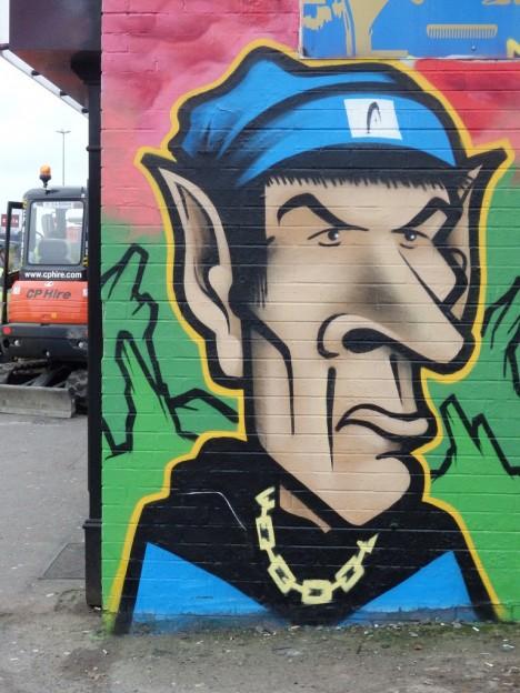 graffiti Spock 19