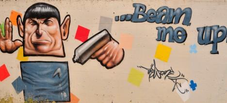 graffiti Spock 20