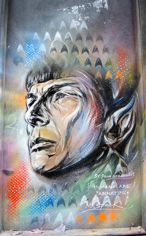 graffiti Spock 3