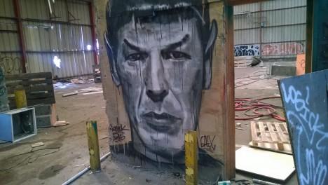 graffiti Spock 7a