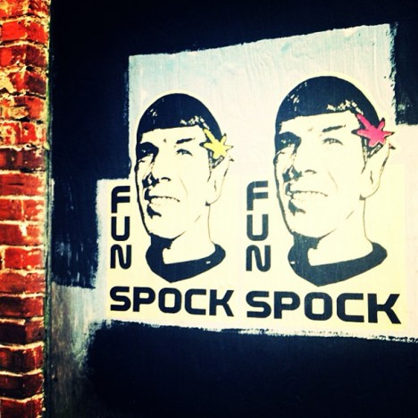 graffiti Spock 9