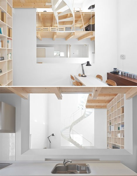 japan interiors case house 3