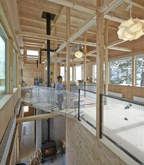 japan interiors treehouse 1