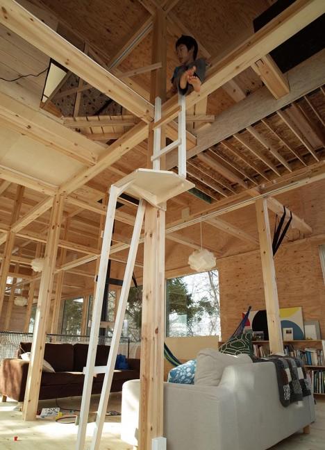 japan interiors treehouse 3