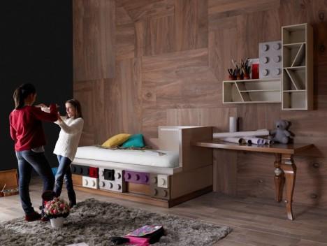 kids furniture lego inspired
