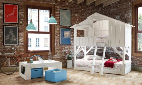 kids furniture playhouse beds & 16 Fun Kids Room Ideas Will Make You Want to Shrink Yourself ...