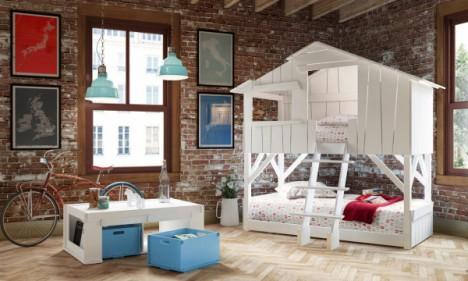 kids furniture playhouse beds