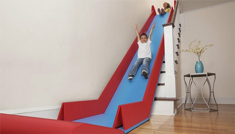 Good kids furniture staircase slide